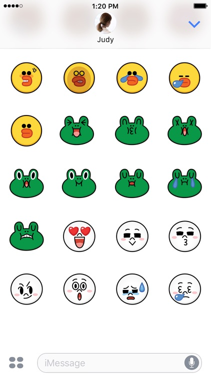 SALLY & FRIENDS Emoji Stickers - LINE FRIENDS screenshot-4