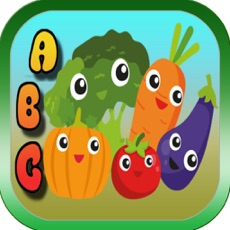 Activities of Vegetables ABC Tracing Olds Easy Spelling Reading