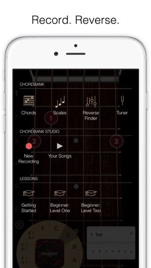 Chordbank Guitar Chord App On The App Store