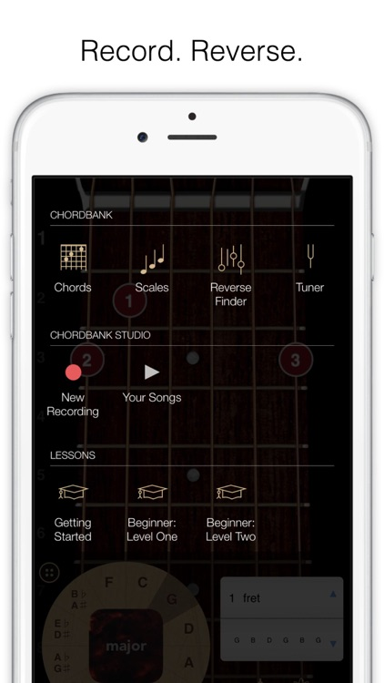 ChordBank  -  Guitar Chord App screenshot-4