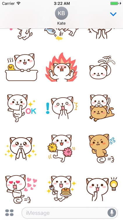Pretty Cats Sticker