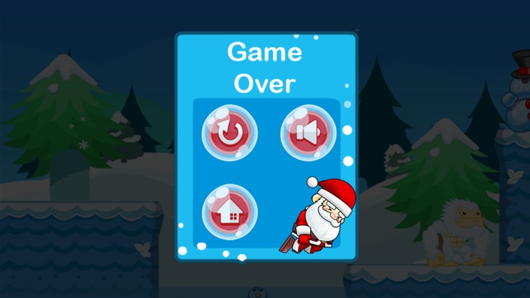 Christmas Santa Adventure Run screenshot-4