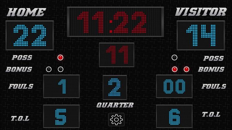 Basketball Scoreboard - Remote Scorekeeping screenshot-4