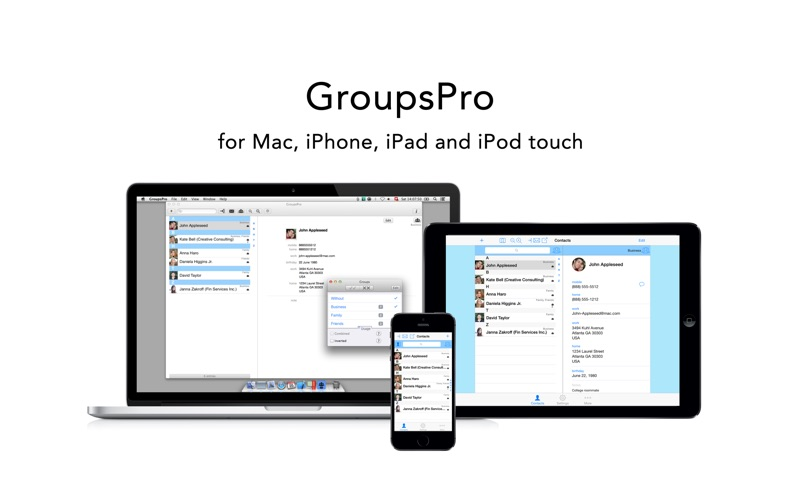 GroupsPro Screenshots