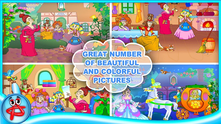 Cinderella Classic Fairy Tale: Book for Kids screenshot-3