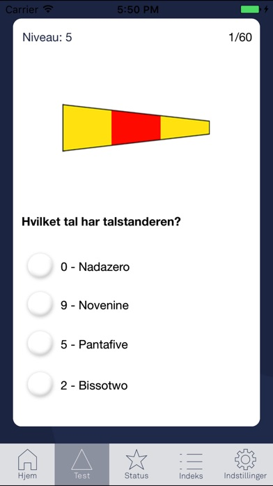 Screenshot for Navigame Signalflag in Denmark App Store