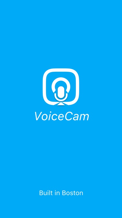 VoiceCam - Take selfies with your voice!