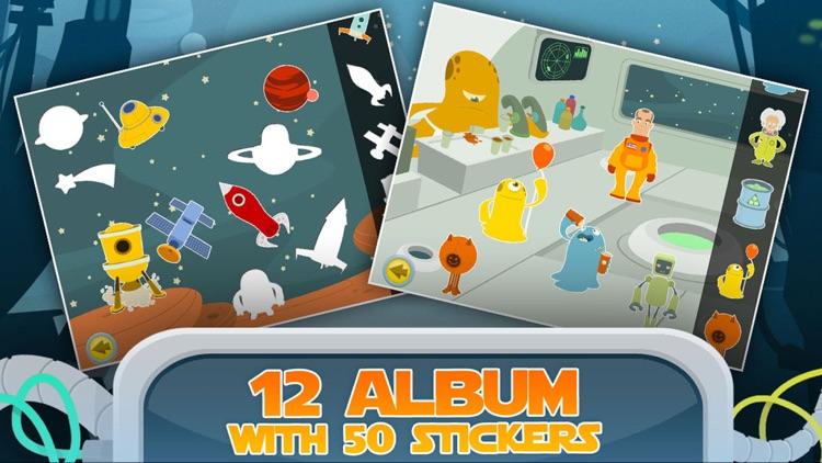 Space: Toddler Games, Free Learning 4 kids & boys screenshot-3