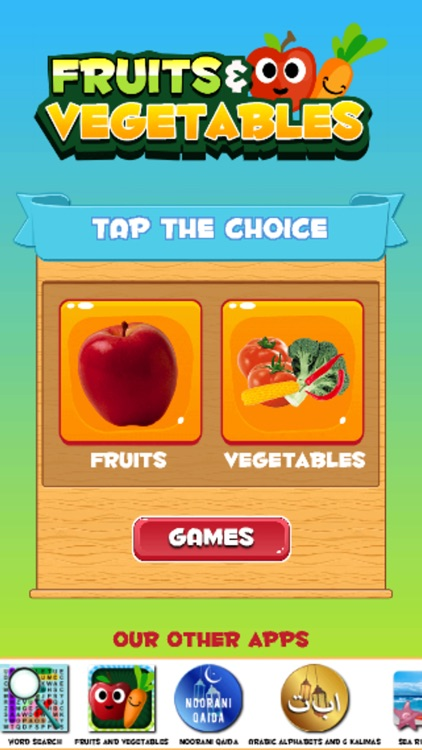 Learn Vegetables and Fruits