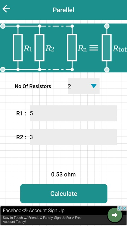 Series Parallel Resistor Calculator by Markana Sanket Shantibhai