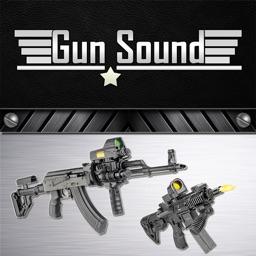 Gun Sounds With Guns Shot Animated Simulation