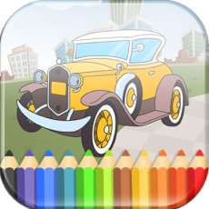 Activities of Cars Coloring Book Game for Kids