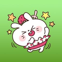 Fluffy Rabbit Stickers