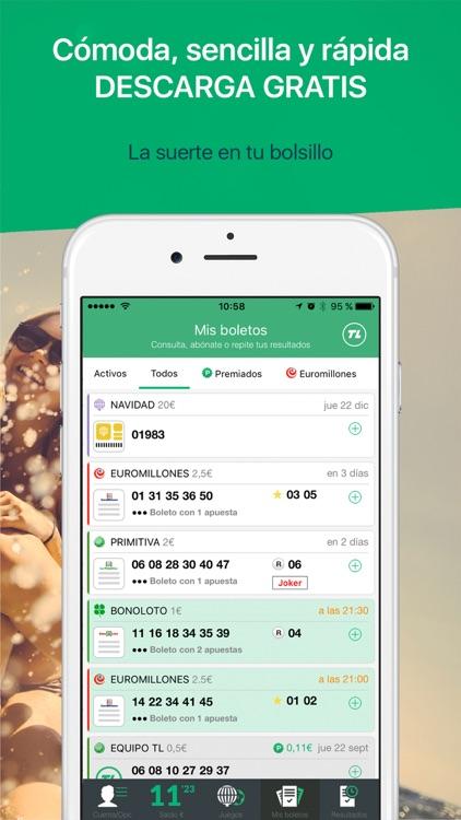 TL: Euromillones, Primitiva, Loterías y Apuestas screenshot-4