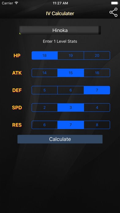 Fe Heroes Iv Calculator >> Iv Calculator For Fire Emblem Heroes App Price Drops