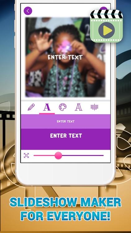 My SlideShow - Movie Maker with Music screenshot-4