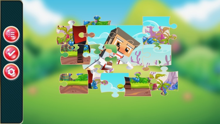 cartoon jigsaw puzzle learning game for kid 4 year screenshot-3