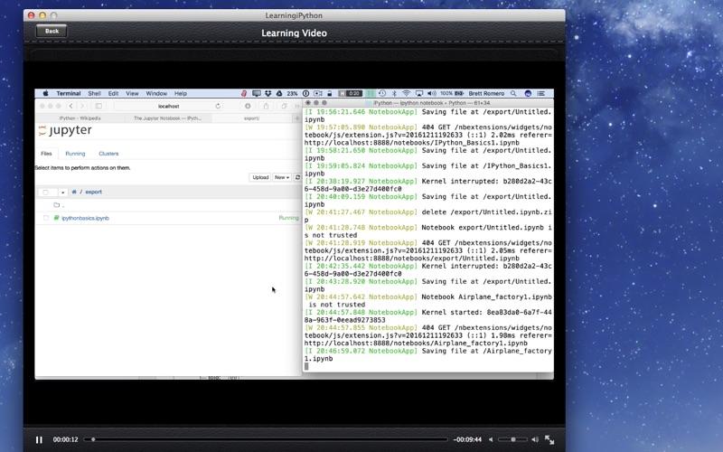 LearnFor iPython screenshot 2