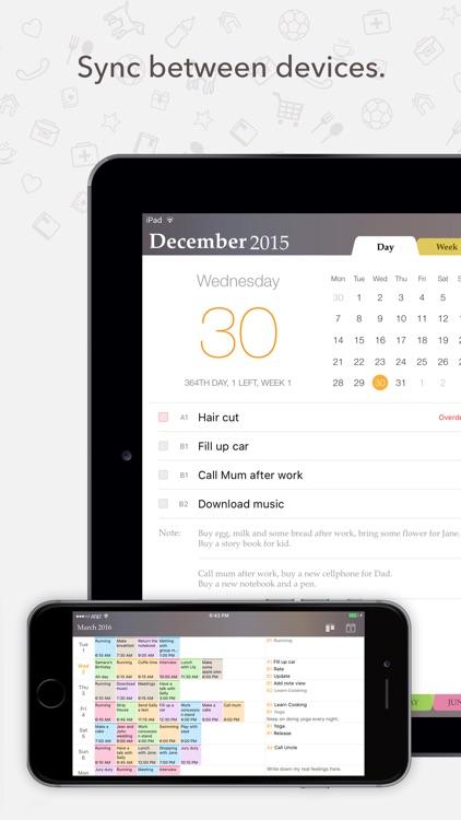 Planner Pro - Daily Calendar & Personal Organizer screenshot-4