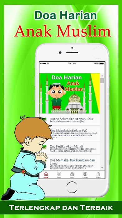 Doa Harian Anak Muslim 1