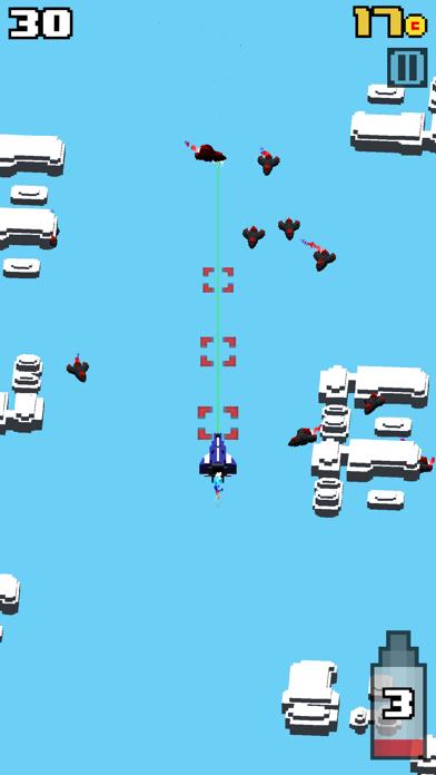 Crossy Wars - Endless Arcade Shooter screenshot four