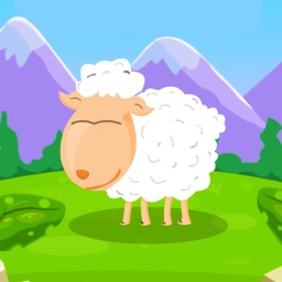 Hungry Sheep Match Puzzle -  fed the sheep!
