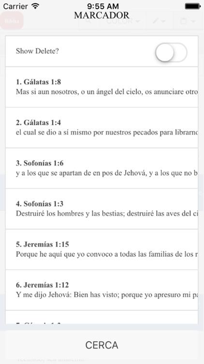 Santa Biblia Reina Valera 1960 - No necesita conex screenshot-4