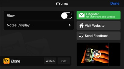 Screenshot for iTrump - '2-inch Trumpet' with Trumpad in Chile App Store