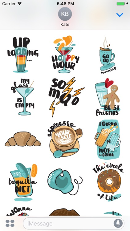 Hungry Sticker Pack for Messaging