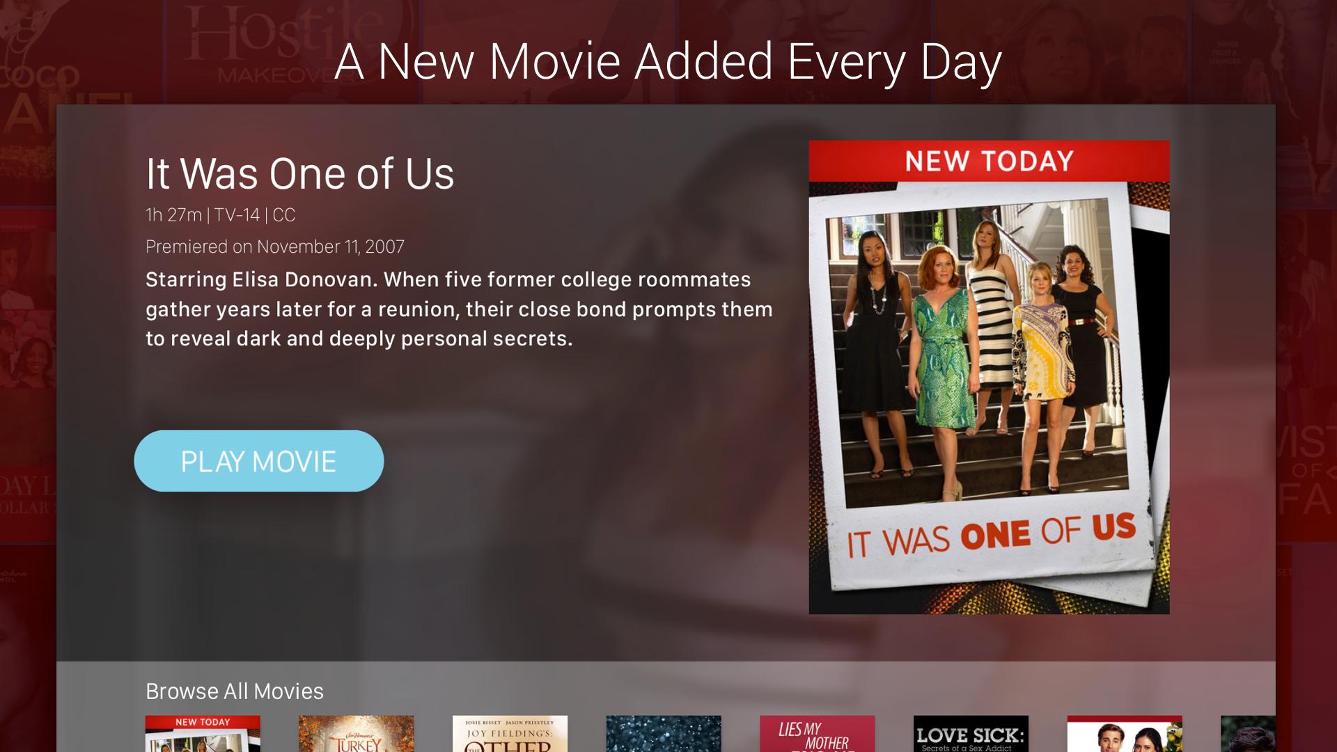 Lifetime Movie Club screenshot 13