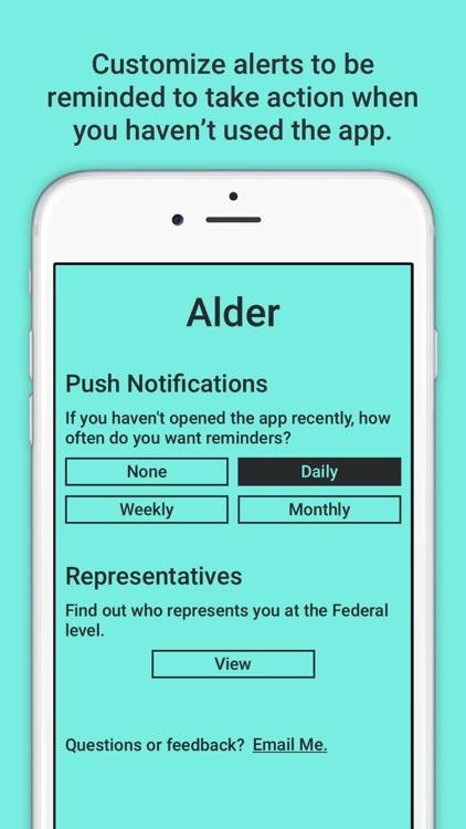 Alder - Daily Social Action screenshot-3