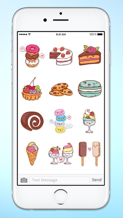 Cute Sweets Sticker Pack