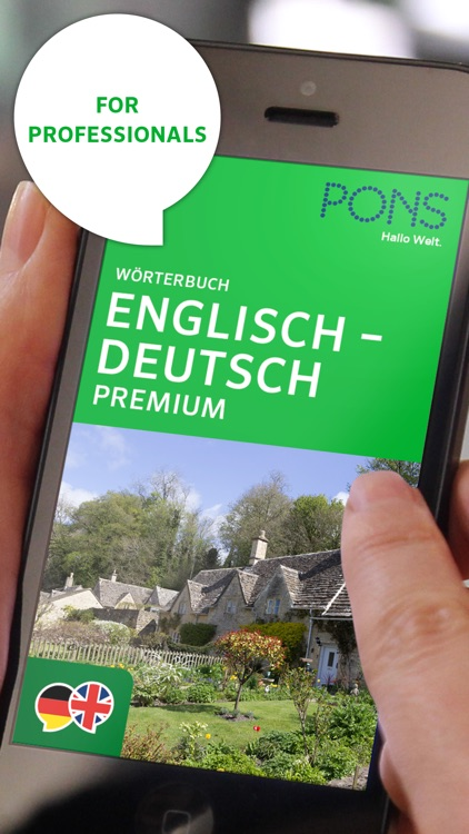Dictionary German - English PREMIUM by PONS
