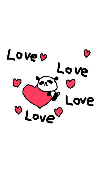 Love Panda Candy