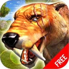 Activities of Sabertooth Tiger Survival Simulator : Wild Animals