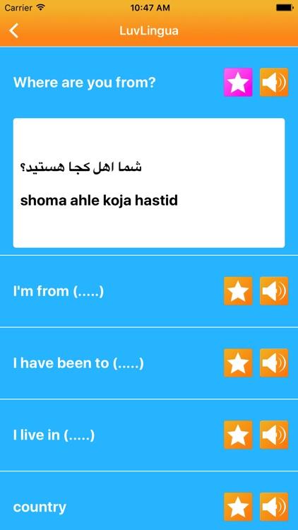 Learn Farsi Persian LuvLingua
