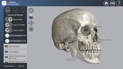 3D Skull Atlasのおすすめ画像1