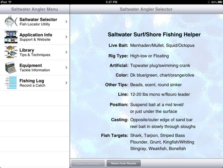 Saltwater Angler Pro