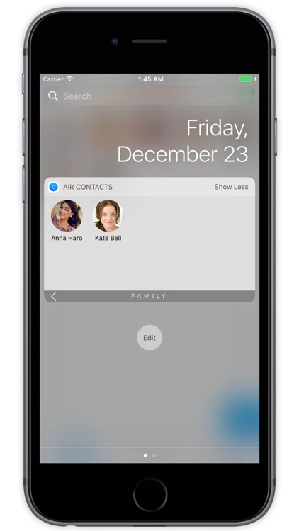 Air Contacts Pro - Quickly Call and Text Widget screenshot-4