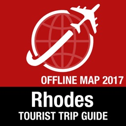 Rhodes Tourist Guide + Offline Map