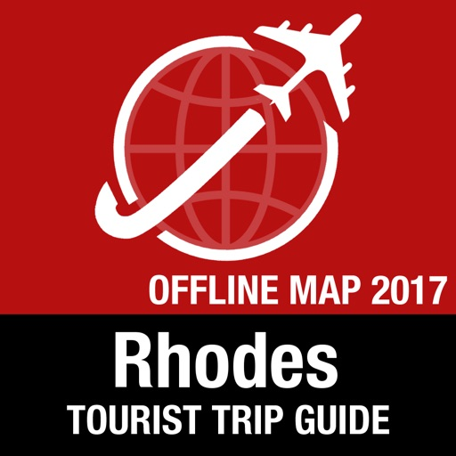 Rhodes Tourist Guide + Offline Map