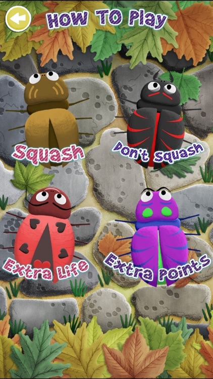 Squishy Bugs - Tap the Bugs Kids Game