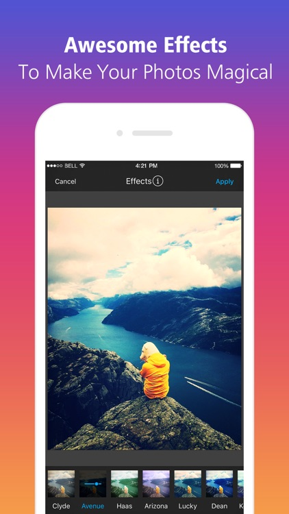 Photo Editor to Get Likes for Instagram