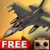 虚拟现实喷气式战斗机作战飞行模拟器 - 真正的喷气式战斗机飞行游戏免费