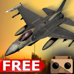 VR Jet Fighter Combat Flight Simulator - Free Game