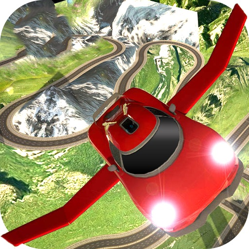 AirBorne Flying Car : Fast Racing Sim-ulator 2017