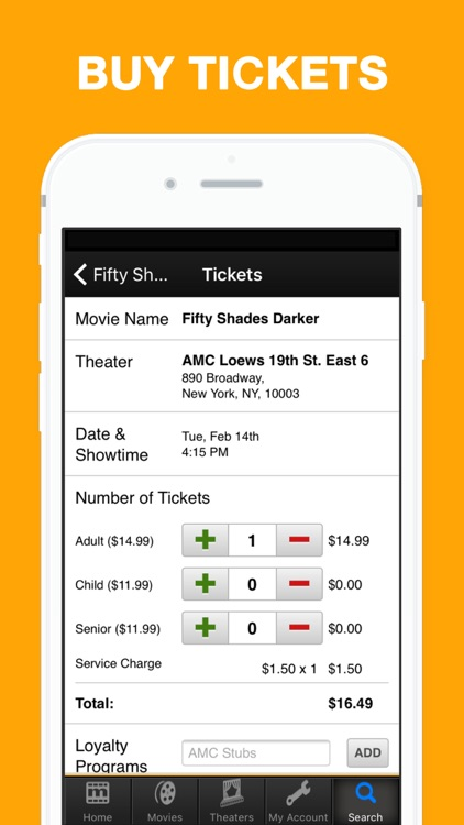 MovieTickets.com - Showtimes and Tickets