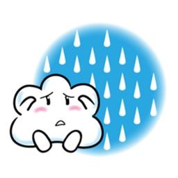 Cute Cloud Emoji Stickers