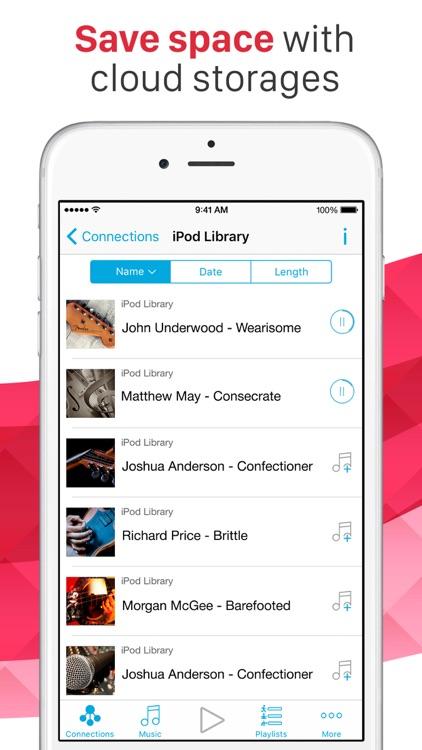 Music Pocket - Offline Player & Cloud Streamer screenshot-3
