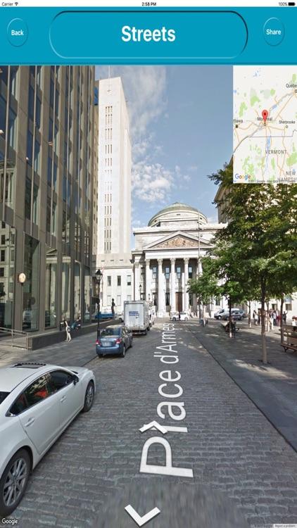 Montreal QC Canada Offline City Maps Navigation screenshot-4